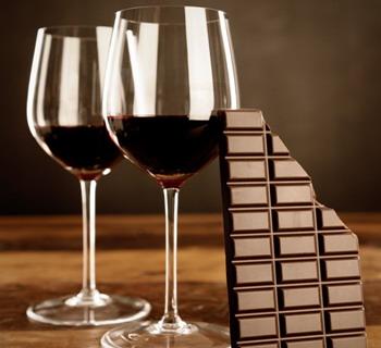 Вино с шоколадом